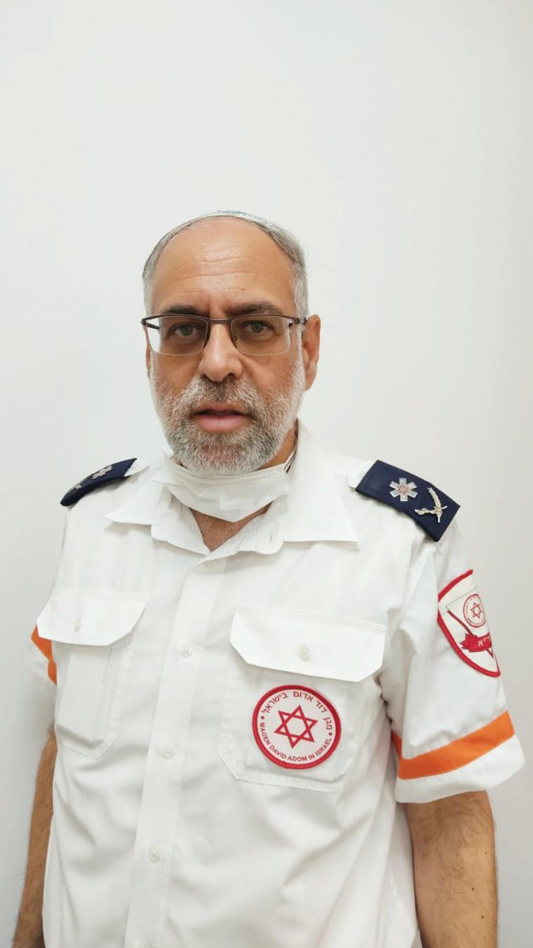 ד''ר אלי יפה, סמנכ''ל קהילה במד''א (צילום: דוברות מד''א)