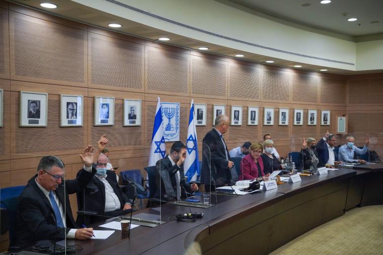 ועדת החוץ והביטחון (צילום: דוברות הכנסת, נועם מושקוביץ)