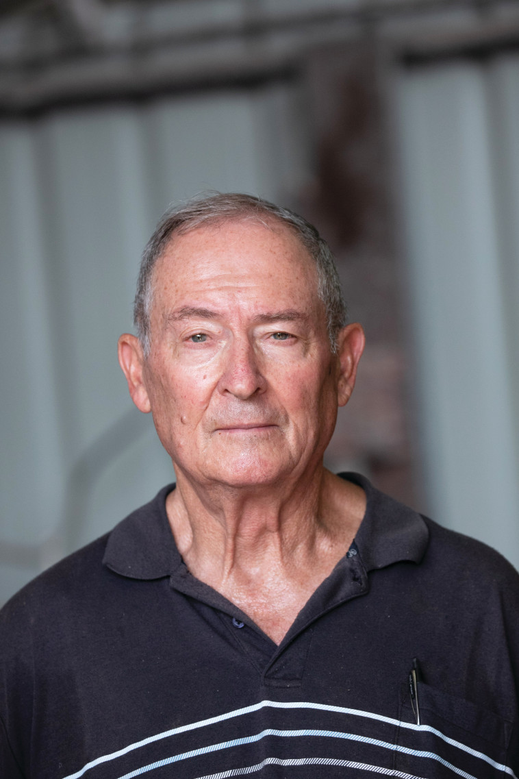 ניצב בדימוס אליק רון, כיהן כמפקד מחוז צפון ב־1997־2000 (צילום: יוסי אלוני)