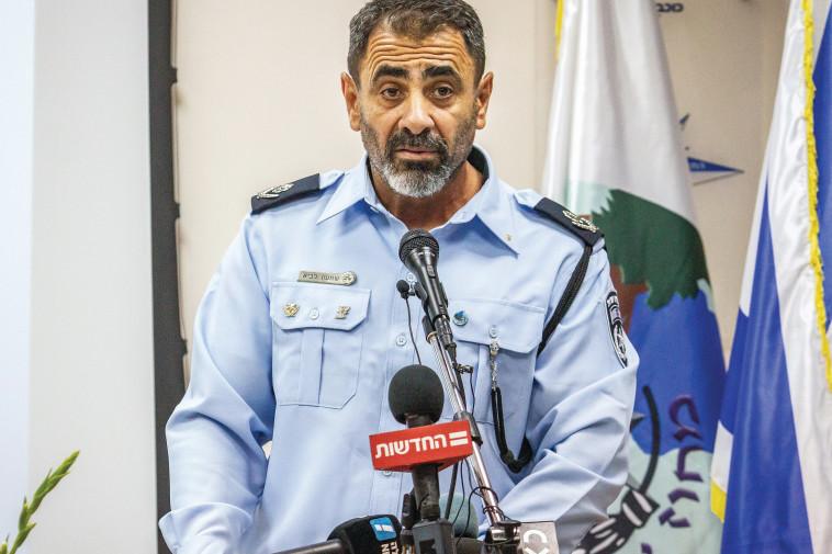 מפקד מחוז צפון במשטרה, שמעון לביא (צילום: פלאש 90)