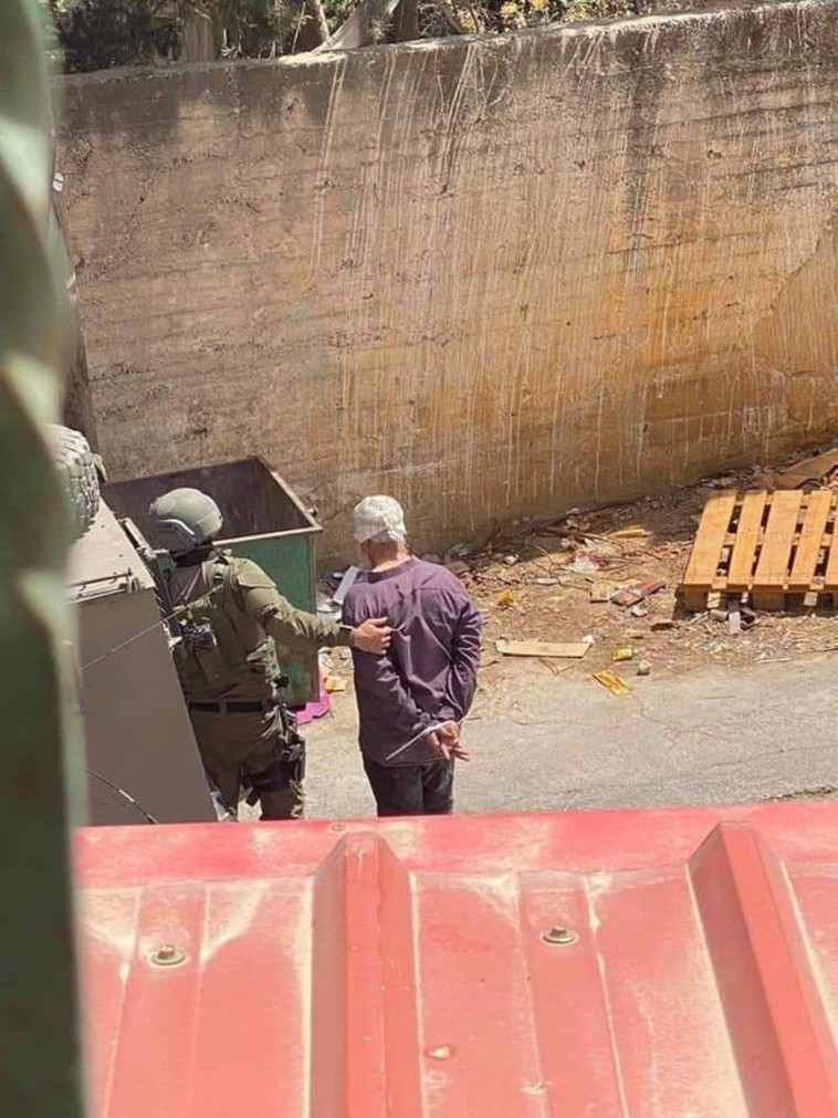 מעצרים במהלך היום (צילום: רשתות ערביות)