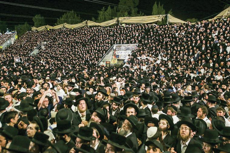 האסון בהר מירון (צילום: דוד כהן פלאש 90 )