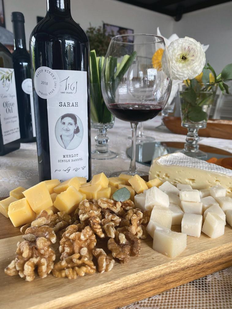יין, גבינות וג'אז אצל ''יקב נטוף'' (צילום: מיטל שרעבי)