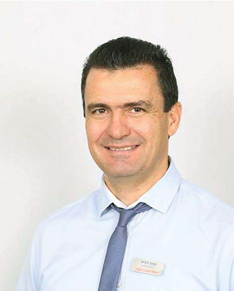 פואד דיבסי מנהל סניף פתח תקווה בנק הפועלים (צילום: פרטי)