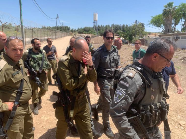 כוחות המשטרה וצה''ל (צילום: דוברות המשטרה)