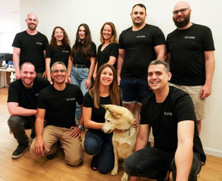 צוות חברת Nimble (צילום: ג'ורדן קסטרינסקי)