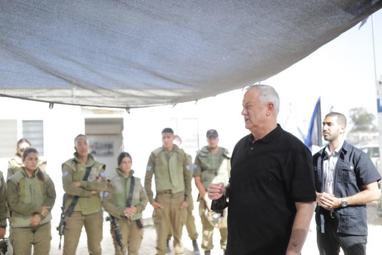 בני גנץ (צילום: אריאל חרמוני, משרד הביטחון)