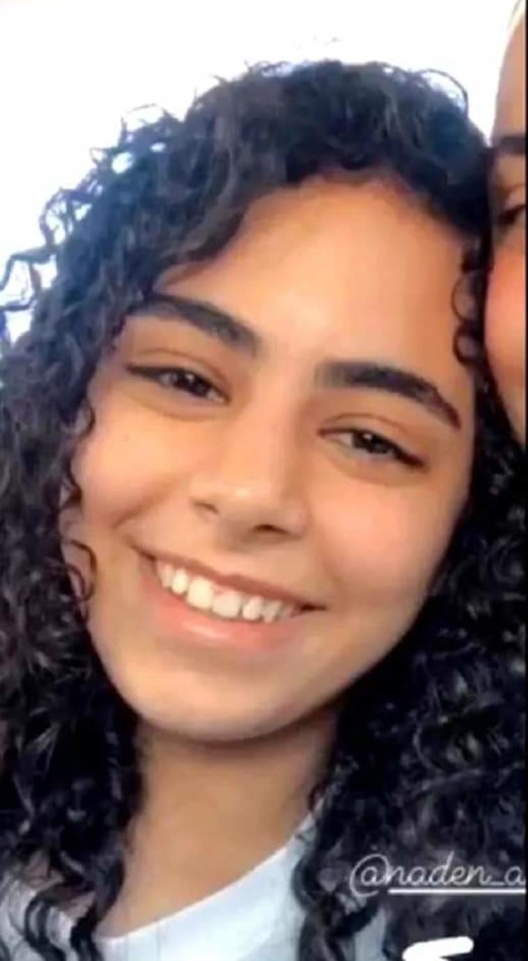 נדין ע'וואד בת ה-16 שנהרגה מפגיעה ישירה בלוד (צילום: באדיבות המשפחה)