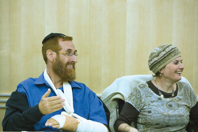 יהודה גליק ויפי ז''ל (צילום: יונתן זינדל)