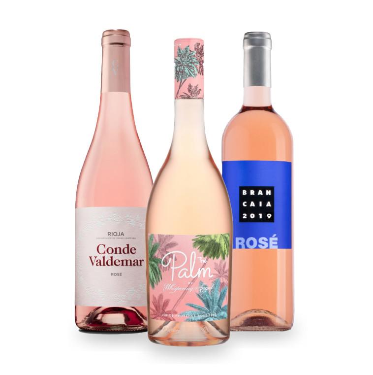 מארז רוזה של יין בעיר (צילום: יחצ)
