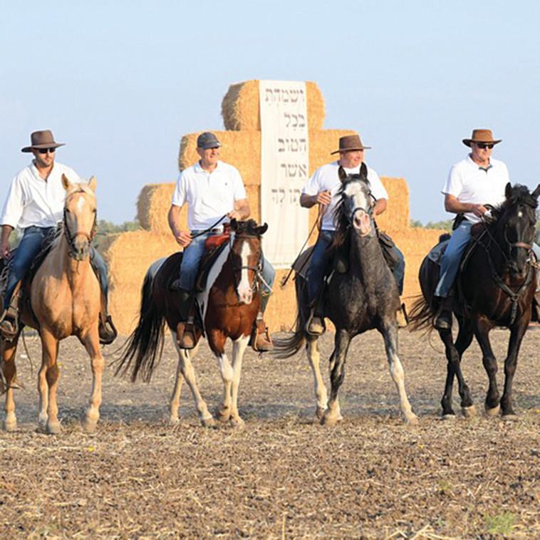 פסטיבל שבועות בעמק (צילום: באדיבות המועצה האזורית עמק יזרעאל)