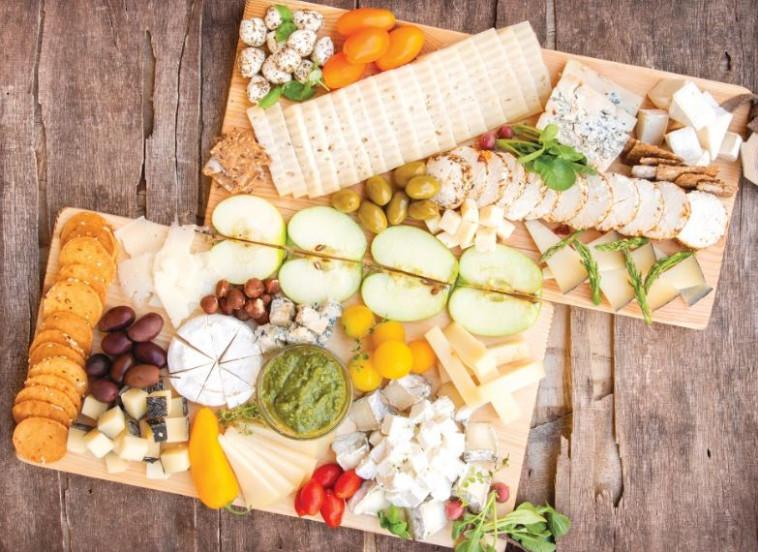 גבינות מחלבת יעקבס (צילום: הדס ניצן)