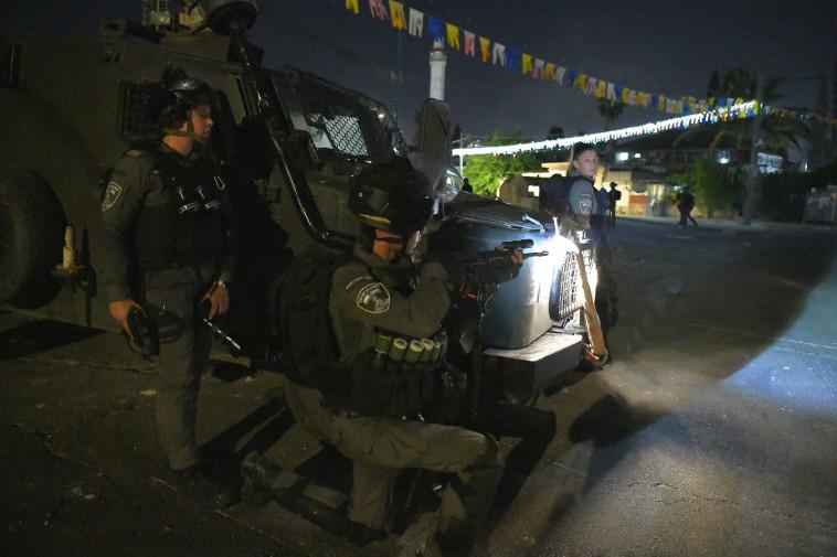 מהומות בלוד (צילום: ראובן קסטרו, וואלה!)