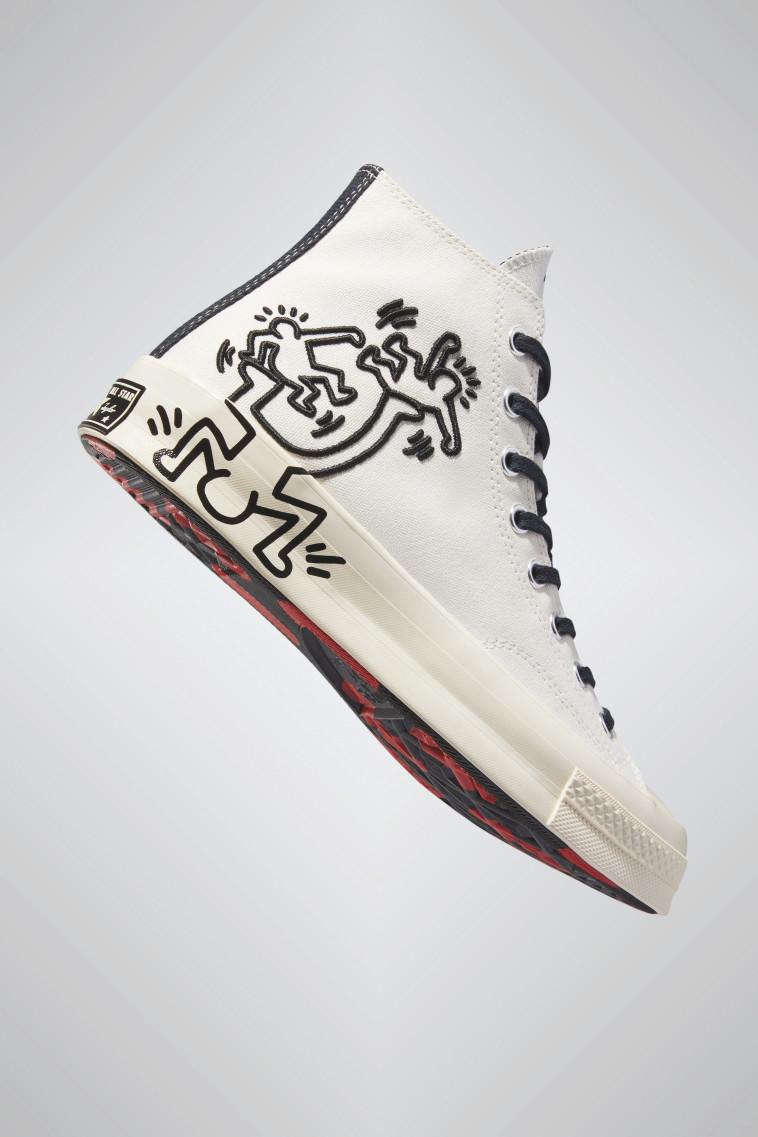 נעלי אולסטאר קית הרינג, 399 שקלים (צילום: יחצ חול)