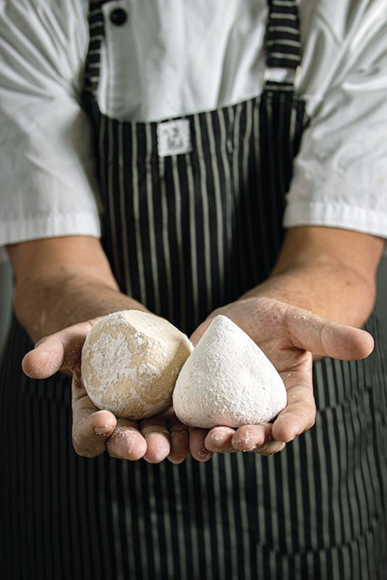 גבינת אבן יוגורט (צילום: נתנאל ישראל)