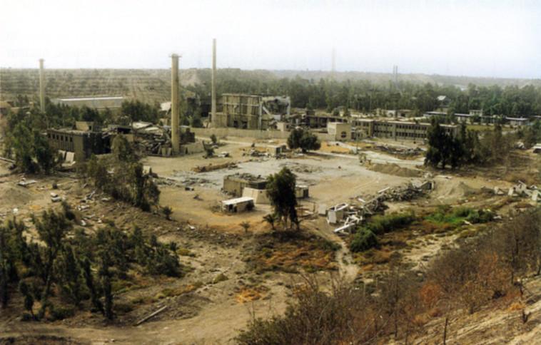 אתר הפצצת הכור בעיראק (צילום: צחי בן עמי)