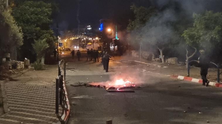 שריפות ברחבי הארץ (צילום: דוברות המשטרה)
