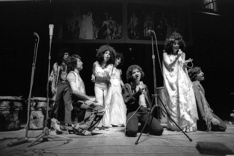 רותי נבון שנת 1972 בהצגה אל תקרא לי שחור  (צילום: משה מילנר)