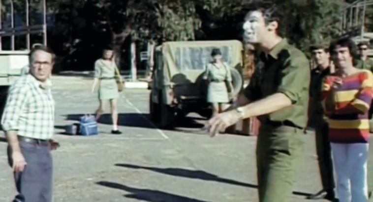 גורנשטיין בסרט ''הלהקה'' (צילום: מתוך הסרט)
