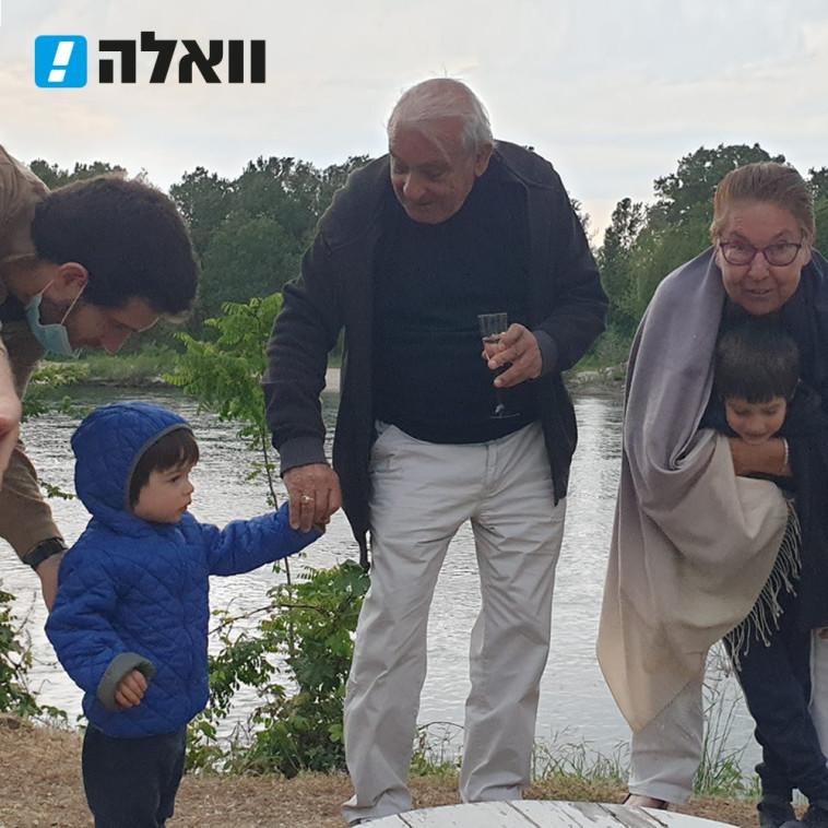 עמית בירן, הבן תום ויצחק וברברה כהן שנהרגו באסון הרכבל באיטליה לצד הבן איתן שנפצע אנוש  (צילום: באדיבות וואלה!)