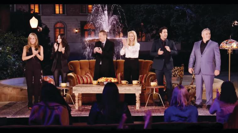 ''חברים'', האיחוד (צילום: צילום מסך: HBO)