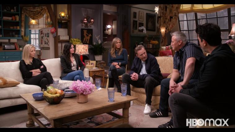 מתוך האיחוד של ''חברים'' (צילום: צילום מסך: HBO)