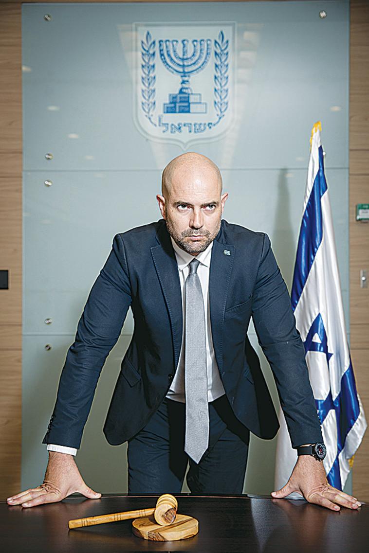 אמיר אוחנה (צילום: מרים אלסטר, פלאש 90)
