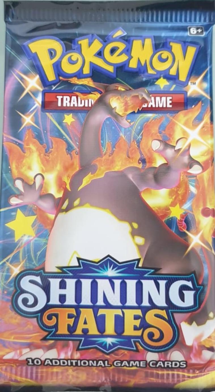חבילת קלפי פוקימון מסדרת Shining Fates (צילום:  באדיבות אינטרנשיונל קולקטיבלס בע''מ)