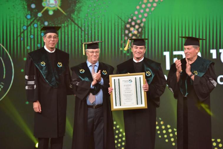 טקס הענקת תארי דוקטור לשם כבוד, אוניברסיטת בר אילן (צילום: שלומי אמסלם)