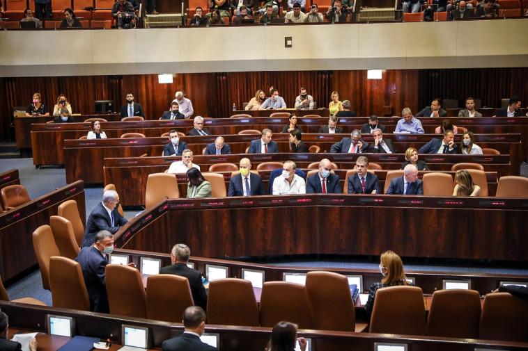חברי הכנסת בבחירות לנשיאות (צילום: נועם מושקוביץ, דוברות הכנסת)