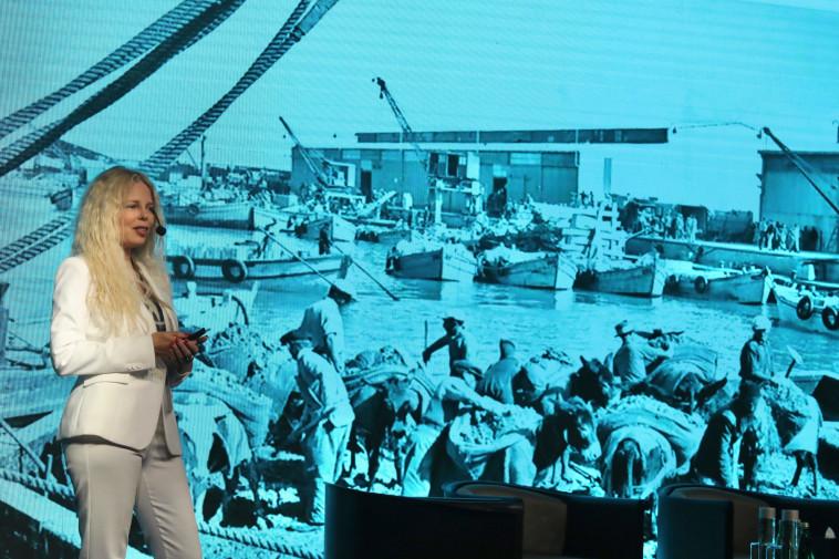 לי זיו, סמנכ''לית פרויקט המגורים פורט TLV של האחים חג'ג' (צילום: מרק ישראל סלם)