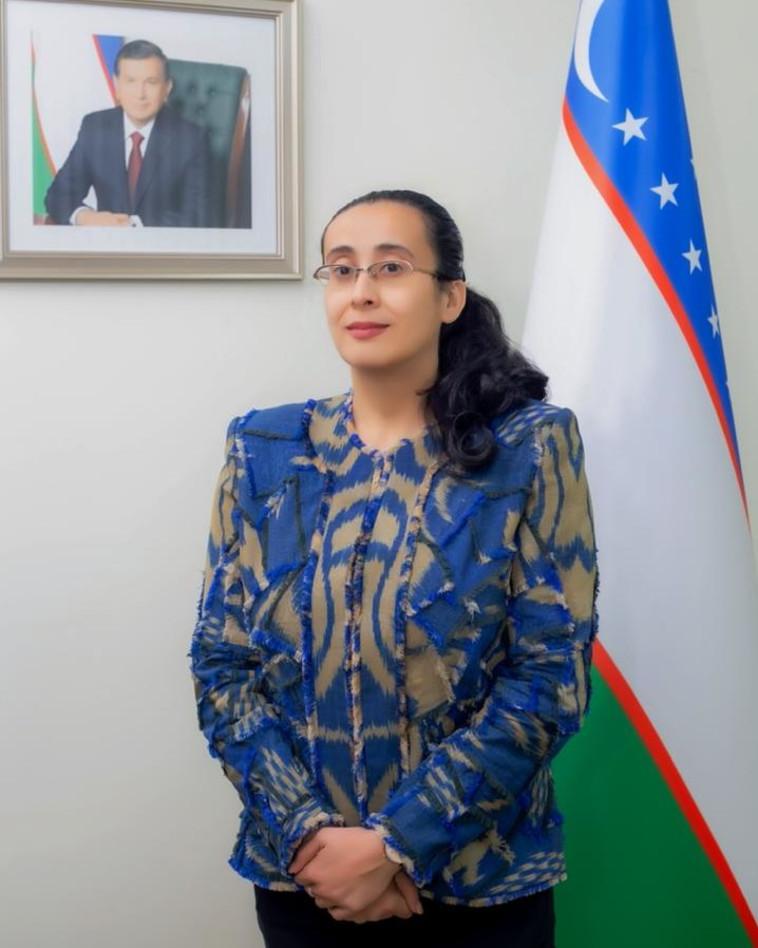 פרוזה מחמודובה (צילום: שגרירות אוזבקיסטן)