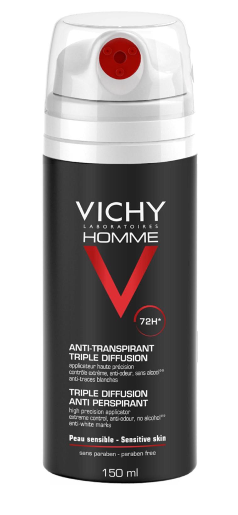 Desodorante masculino de acción hasta 72 horas, Vichy (Foto: PR)