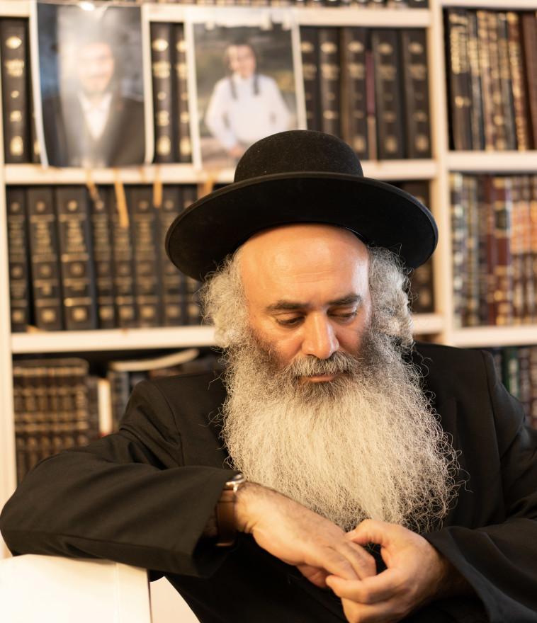 הרב מאיר נתן אלחדד (צילום: רמי זרנגר)