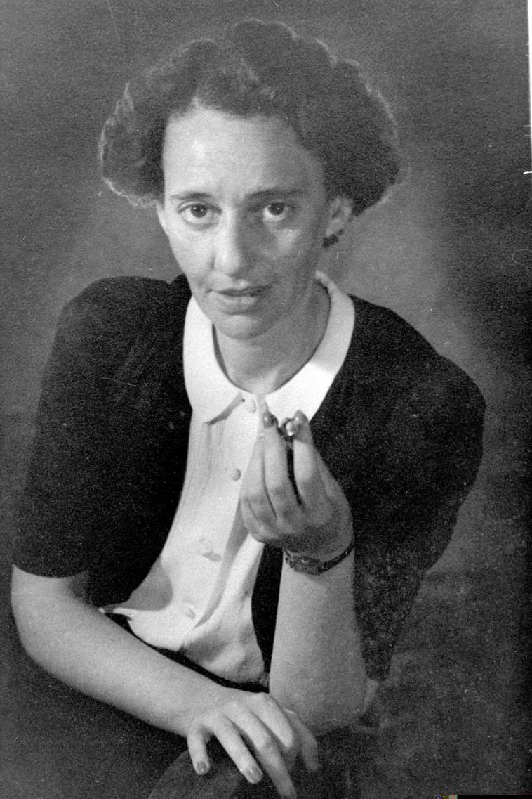 לאה גולדברג (צילום: דוד אלדן- לע''מ)