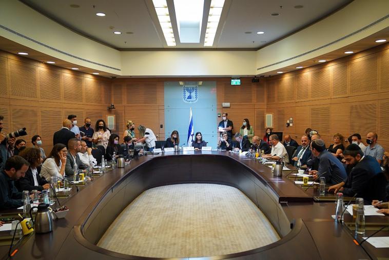 הדיון בוועדה המסדרת (צילום: נועם מושקוביץ, דוברות הכנסת)