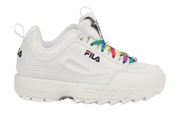 נעלים מקולקציית הגאווה של פילה. מחיר: 199 שקל (צילום: יח''צ)
