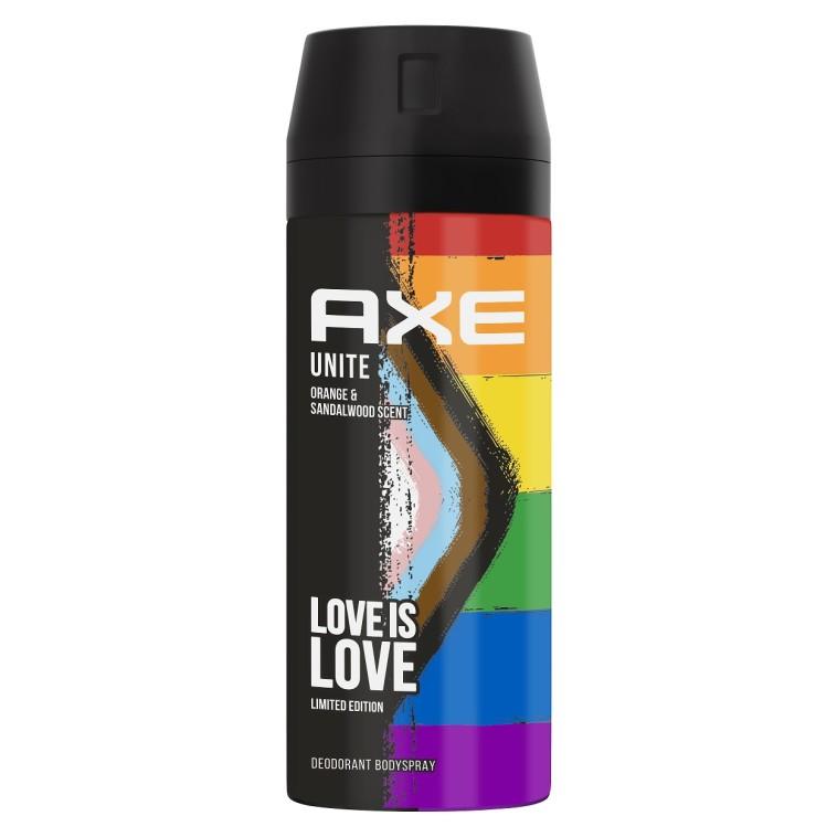 דאודורנט AXE LOVE IS LOVE, אקס. מחיר החל מ: 17.50 שקל (צילום: יח''צ)