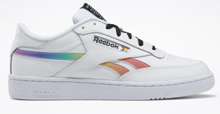 נעליים מקולקציית הגאווה FIERCENESS ISN'T BORN, IT'S MADE, ריבוק. מחיר: 399.90 שקל (צילום: יח''צ)