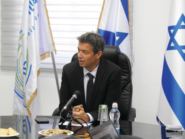 Yoaz Handel (Photo: Ministry of Communications spokeswoman)
