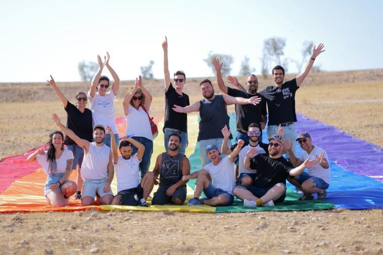 הפעילים בבאר שבע (צילום: ניק סמירוב)