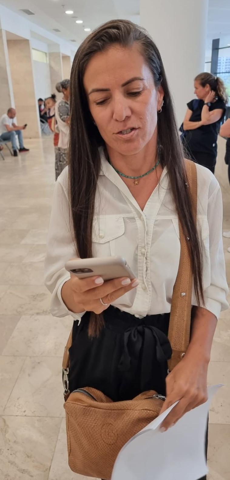עו''ד רויטל קוצר מהסניגוריה הציבורית (צילום: אלון חכמון)