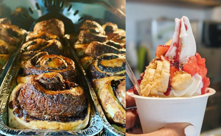 יוגורט ועוגה של יעל מפינת קפה  (צילום: פייסבוק,אסנת גואטה)
