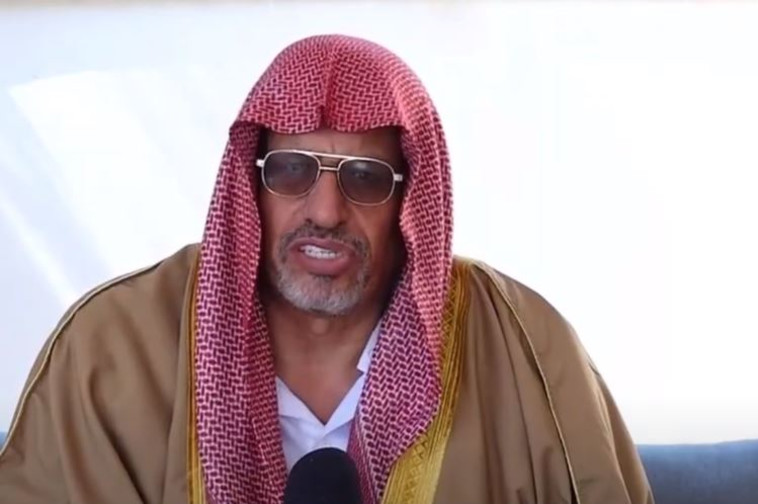 אימאם המסגד בלוד, יוסף מחמד אלבאז (צילום: צילום מסך חדשות 13)