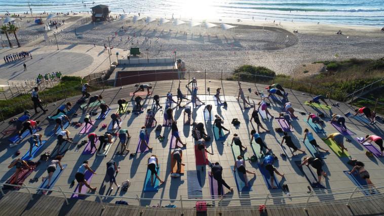 Yoga Festival at the Herzliya Marina Free admission (Photo: PR)