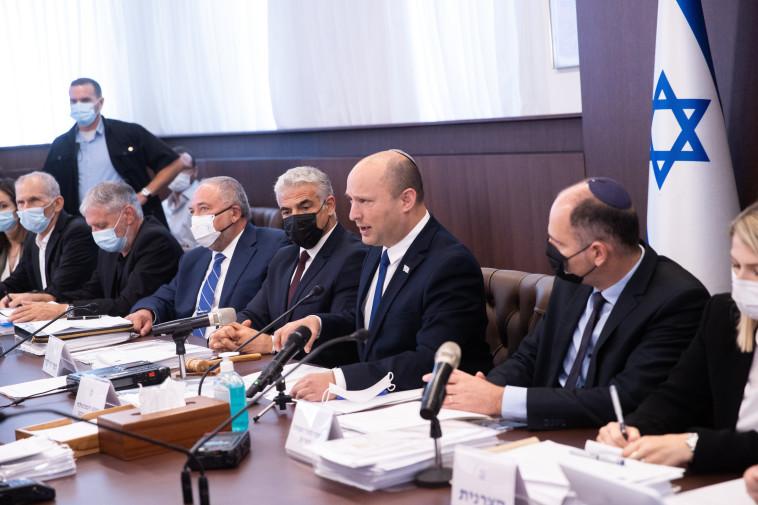 ישיבת ממשלה (צילום: אלכס קולומויסקי, פול)