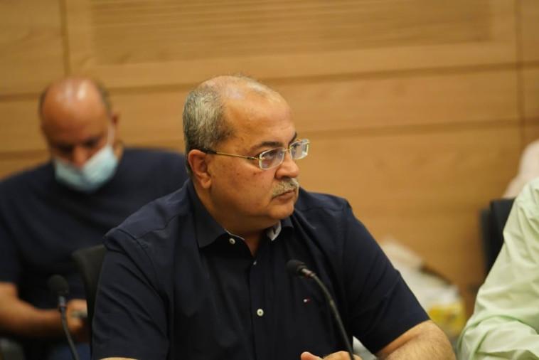 אחמד טיבי (צילום: דני שם טוב, דוברות הכנסת)
