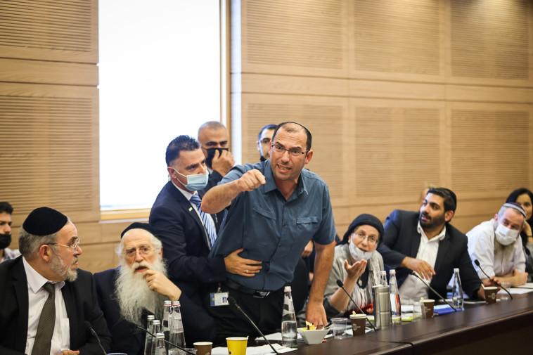 שמחה רוטמן בוועדה המסדרת (צילום: נועם מושקוביץ, דוברות הכנסת)