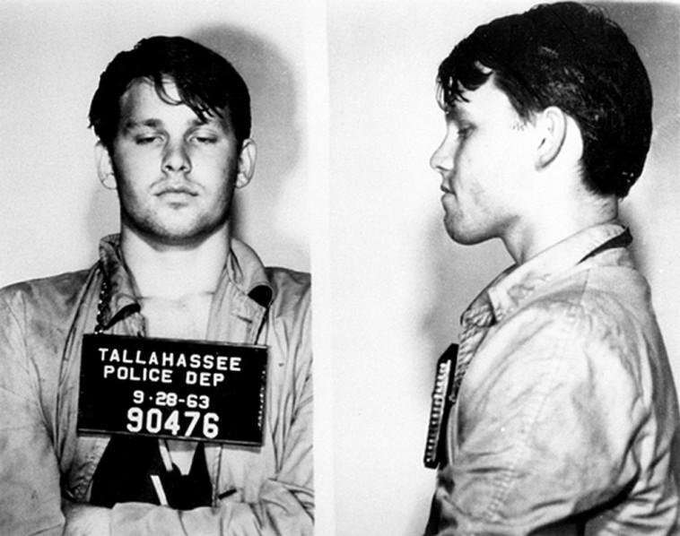 מוריסון נעצר בטלהסי, פלורידה, לאחר מתיחה שביצע בהיותו שיכור (צילום: משטרת פלורידה)