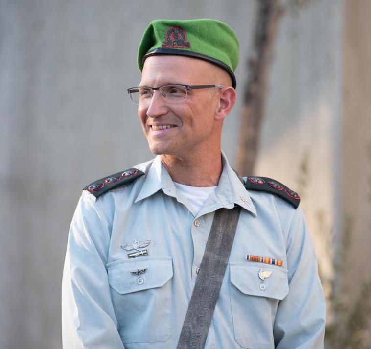 אל''מ שרון אסמן ז''ל (צילום: דובר צה''ל)